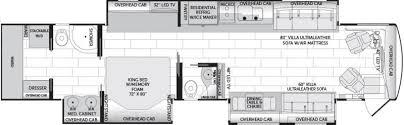 Rv Floor Plans Class A 2018 American Coach American Dream 45t Class A Diesel Tulsa Ok Rv