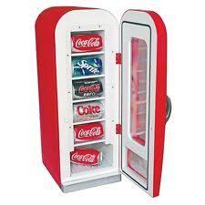 coca cola fridge glass door vintage coke machines ebay
