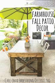 halloween patio decorations 125 best fabulous fall decor images on pinterest decorating