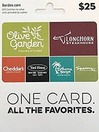 restaurants gift cards darden restaurants gift card 25 gift cards
