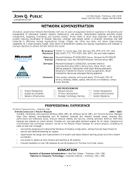 System Administrator Resume Examples by Windows System Administrator Resume Doc Virtren Com