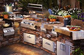 outdoor kitchen furniture top outdoor kitchen packages bbq guys