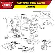 100 wiring diagram winch solenoid warn winch atv wiring