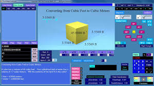 elementary math convert cubic feet to cubic meters youtube