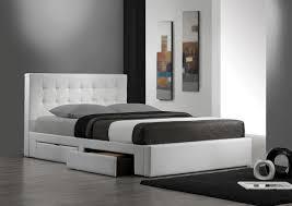 Platform Bed With Drawers Underneath Plans Queen Platform Bed With Storage Large Size Of Bed Framesking