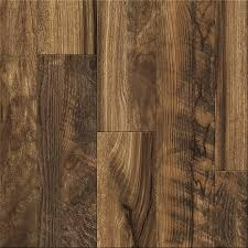 Beveled Edge Laminate Flooring Shop Allen Roth 6 18 In W X 4 23 Ft L Rescued Wood Medley