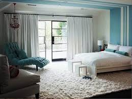 Contemporary Blue Bedroom - modern bedroom blue