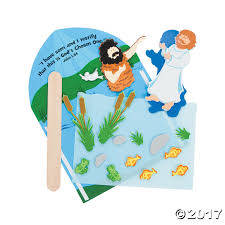 baptism of jesus craft kit jesus crafts craft kits and sunday