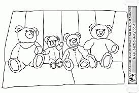 teddy bear coloring pages kids hf85l