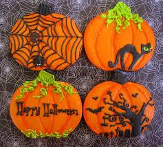 121 best halloween cookies images on pinterest decorated cookies