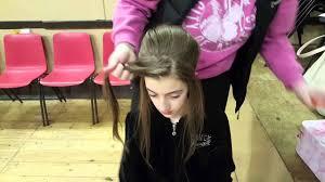 hairstyles for an irish dancing feis feis hair tutorial youtube