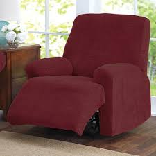 furniture red recliner seat slipcover cool recliner slipcover