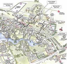 Oxford England Map by University Of York Campus Map York England U2022 Mappery