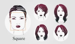 haircuts for a fat face square haircuts according to face shape how to choose haircuts for round