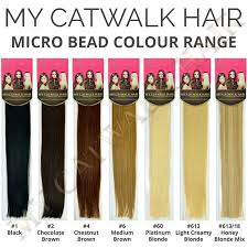 Beaded Hair Extension by Micro Bead Remy Extensions 613 18 Honey Blonde Mix U2013 My Catwalk Hair