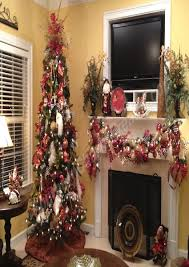 christmas tree decorating ideas with mesh ribbon best images