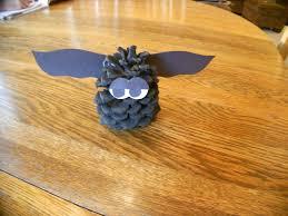almost unschoolers pine cone bats