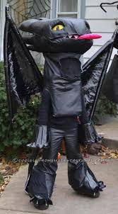 Toothless Halloween Costume 115 Train Dragon Party Images
