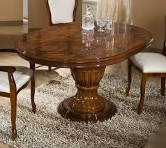 gorgeous image of dining room decoration using oval pedestal solid