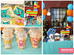 gumball party favors amazing world of gumball adventure time birthday party ideas