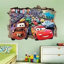 Paw Patrol Room Decor Paw Patrol Smashed Wall Sticker 3d Bedroom Boys Girls Vinyl Wall