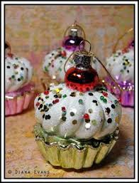 cupcake ornament craft and ornament