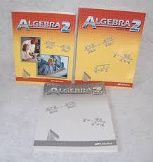 a beka algebra 2 grade 10 student book solution key teacher quiz
