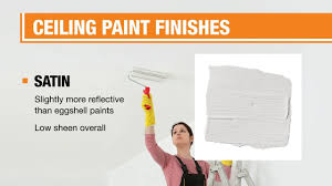 what type of paint finish to use on kitchen cabinets best ceiling paint for your home the home depot