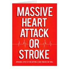 funny heart attack cards u0026 invitations zazzle co uk
