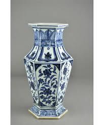 Chinese Vases History Chinese Blue U0026 White Porcelain Vase Ming Xuande