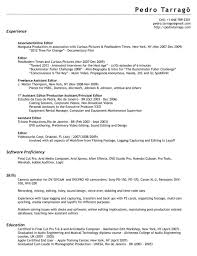 Photo Editor Resume Sample by Freelance Resume Template Computer Repair Technician Resume