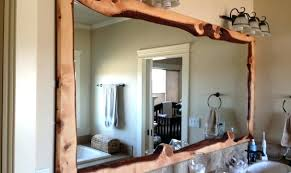reclaimed wood bathroom mirror rustic wood framed mirrors reclaimed wood mirror frame awesome ideas