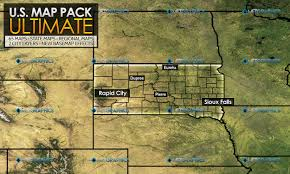 Sioux Falls Map Metgraphics Weather Graphics Photoshop Templates U0026 More