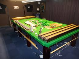 full size snooker table re rubber and re cover on a full size snooker table in bagworth