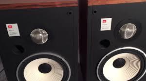 jbl home theater speakers vintagr jbl l56 speakers youtube