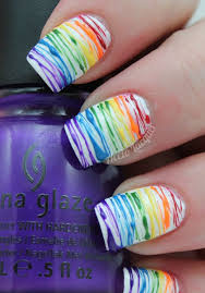 best 25 rainbow nail art ideas on pinterest rainbow nail art