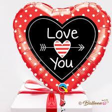 send a balloon in a box send i you balloon in a box gift