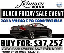 black friday cars lehman volvo cars november 2013