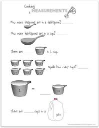collection of solutions cooking measurement conversion worksheets