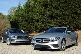 lexus vs mercedes crash test 2017 volvo s90 vs 2017 mercedes benz e class compare cars