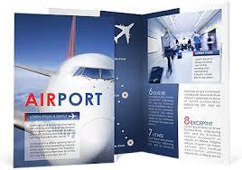 airport brochure template u0026 design id 0000000909 smiletemplates com