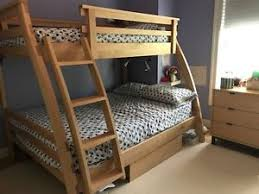 Room And Board Bed Frame Room And Board Duo Bunk Bed And Trundle Storage Ebay