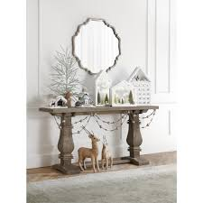 home decorators console table home decorators collection aldridge rectangular antique grey console