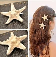 starfish hair clip starfish hair clip the salty wave