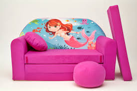 furniture home adorable purple kids sofa bed and girls purple