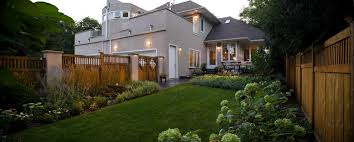 Fence Landscaping Ideas Fence Landscape Ideas Landscape Traditional With Double Garage