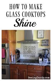 Best Glass Cooktop Best 25 Clean Glass Cooktop Ideas On Pinterest