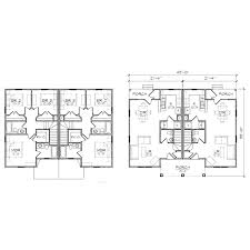 Multifamily Plans by Wonderful Duplex Floor Plans Manufactured Modular Homes Inside