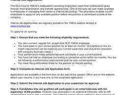 Resume For Internal Promotion 22 Sample Cover Letter For Job Posting 28 Sample Cover Letter For