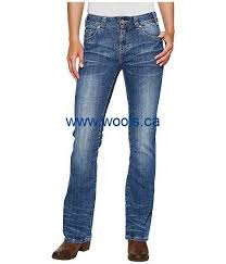 womens bootcut canada s rock and roll mid rise bootcut in medium wash w1